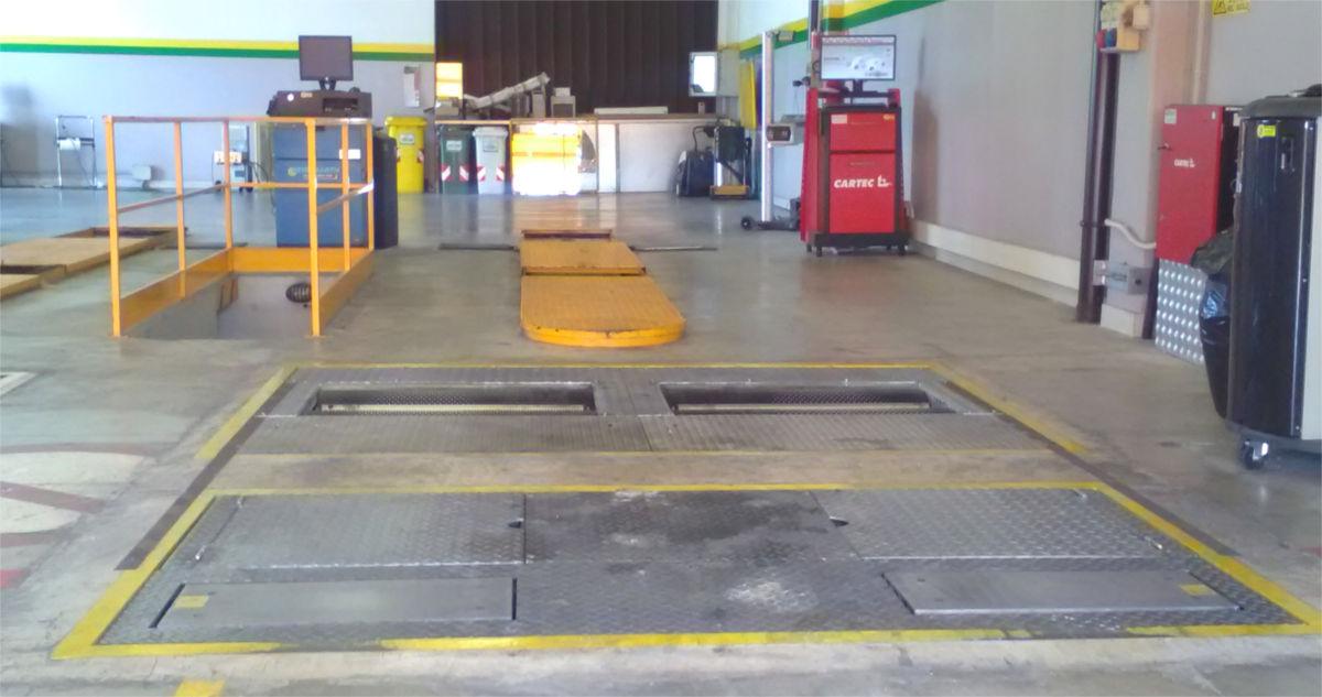 Banco prova dedicato alla pre-revisione dei veicoli