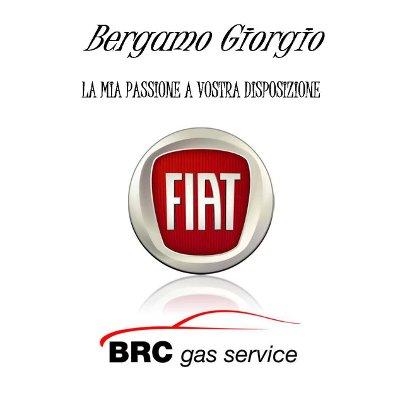 Logo officina Bercamo Fiat e BRC gas service